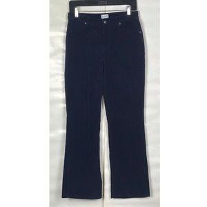 Chico's Navy Blue Corduroy Pants (Size 0 Short)